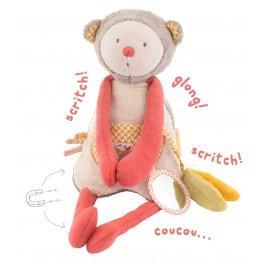 Pliušinis žaislas Bezdžionė Moulin Roty